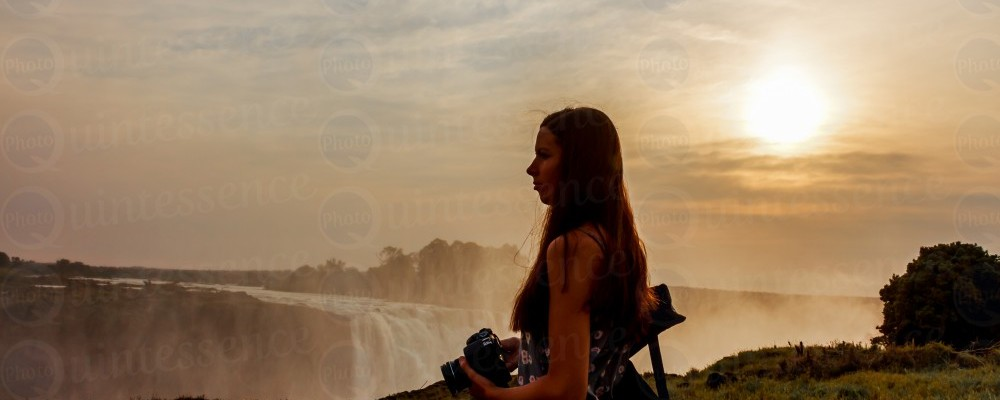 Victoria Falls Sunrise Zimbabwe