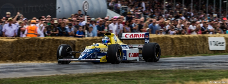 Williams FW13 F1 @ The Goodwood Festival of Speed 2015