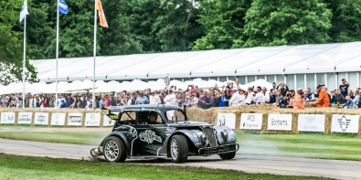 Terry Grant Stunt Driver @ Goodwood Festival of Speed 2016