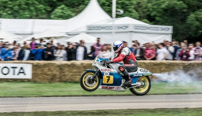 Suzuki XR45 RG500 @ Goodwood Festival of Speed 2016