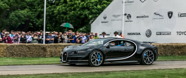 Bugatti Chiron @ Goodwood Festival of Speed 2016