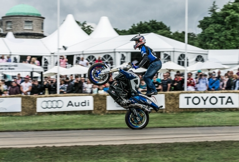 Mattie Griffin Honda F800R @ Goodwood Festival of Speed 2016