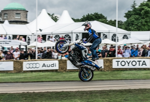 Mattie Griffin Honda F800R @ Goodwood Festival of Speed 2016