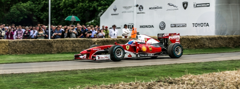 F1 Ferrari F10 @ Goodwood Festival of Speed 2016
