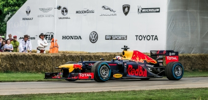 F1 Red Bull Renault RB8 @ Goodwood Festival of Speed 2016