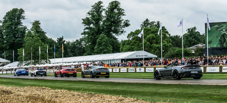 Goodwood Festival of Speed 2016 Supercars