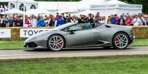 Lamborghini Huracán Spyder @ Goodwood Festival of Speed 2016.