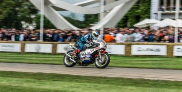 Yahama TZ750 @ Goodwood Festival of Speed 2016