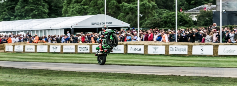 Kawasaki ZX-10R@ Goodwood Festival of Speed 2016