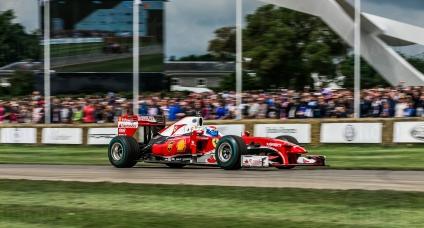 F1 Ferrari F10 @ Goodwood Festival of Speed 2016. Marc Gene.
