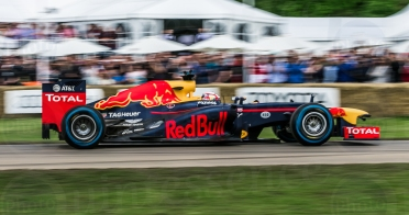 F1 Red Bull Renault RB8 @ Goodwood Festival of Speed 2016. Pierre Gasly.