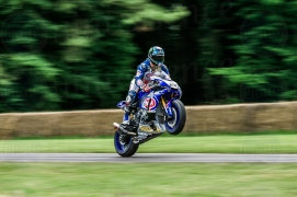 Yamaha YZF-R1 @ Goodwood Festival of Speed 2016.