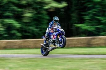 Yamaha YZF-R1 @ Goodwood Festival of Speed 2016.