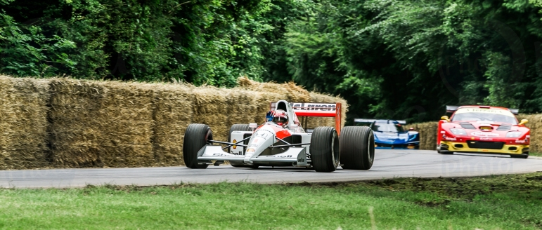 McLaren Honda MP4/6 @ Goodwood Festival of Speed 2016