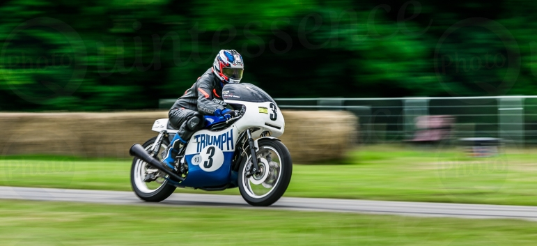 Triumph @ Goodwood Festival of Speed 2016