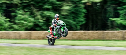 Kawasaki ZX-10R @ Goodwood Festival of Speed 2016