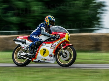 Suzuki RG500 @ Goodwood Festival of Speed 2016