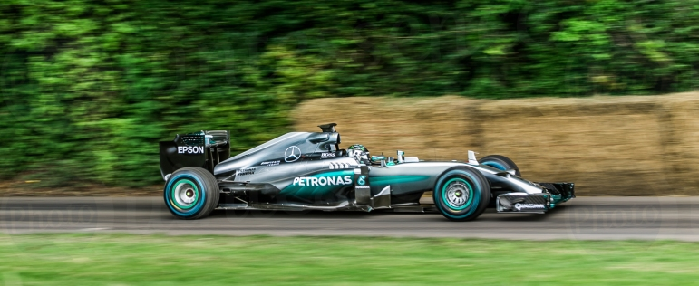 F1 Mercedes Benz W05 Hybrid @ Goodwood Festival of Speed 2016