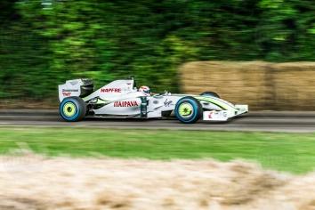 Brawn Mercedes BGP 001@ Goodwood Festival of Speed 2016