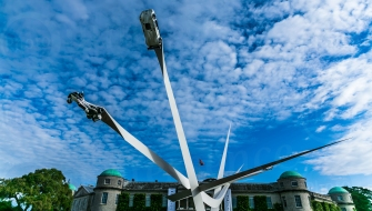 BMW Central Feature Sculpture @ Goodwood Festival of Speed 2016