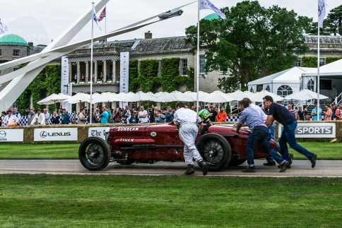 Sunbeam V12 Tiger @ Goodwood Festival of Speed 2016