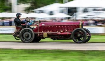 Isotta Frashcini Fiat @ Goodwood Festival of Speed 2016