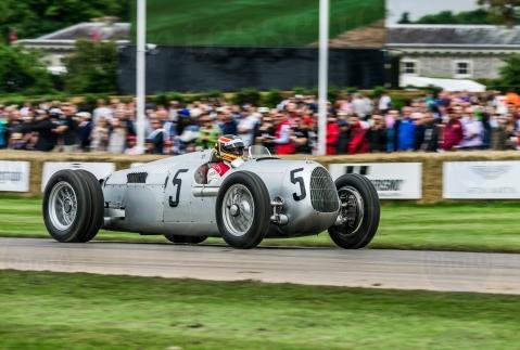 Auto Union Type C@ Goodwood Festival of Speed 2016
