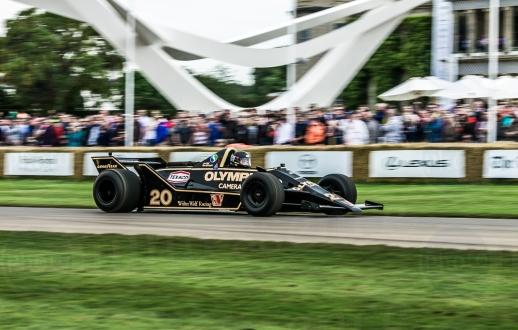 Lotus Renault 97T @ Goodwood Festival of Speed 2016