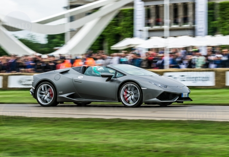 Lamborghini Huracán Spyder @ Goodwood Festival of Speed 2016.